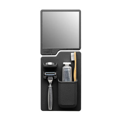 Tooletries The Harvey & Oliver Set Razor Holder & Mirror