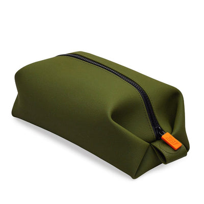 Tooletries The Koby Dopp Bag White Background - Olive