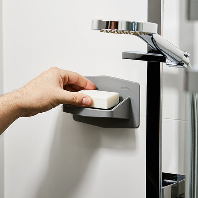 Tooletries The Benjamin Soap Holder on Shower - Gray
