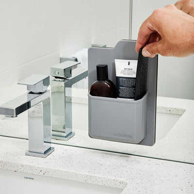 Tooletries The James Toiletry Organizer in Mirror - Gray