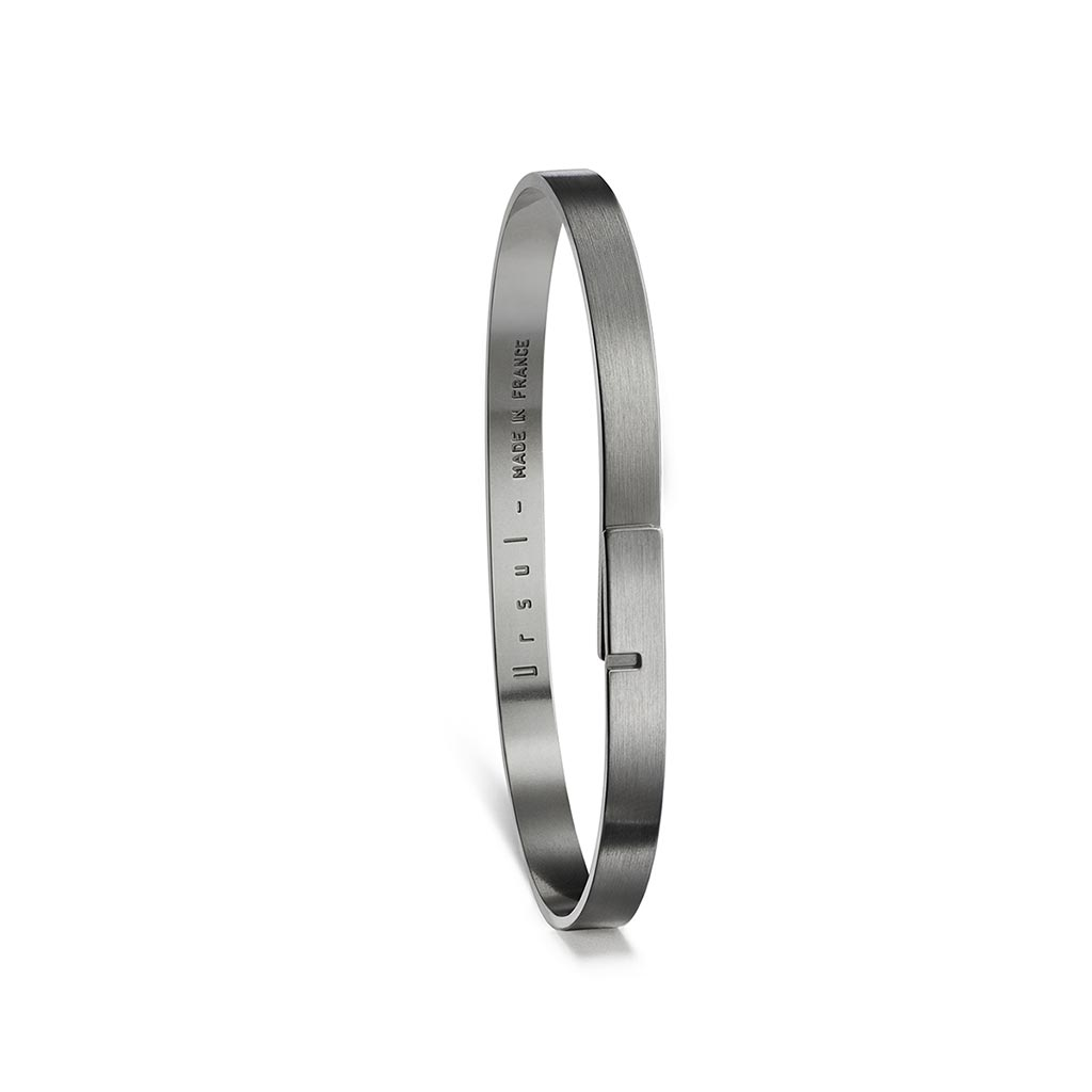 Saturne 5 Dark Silver Bangle