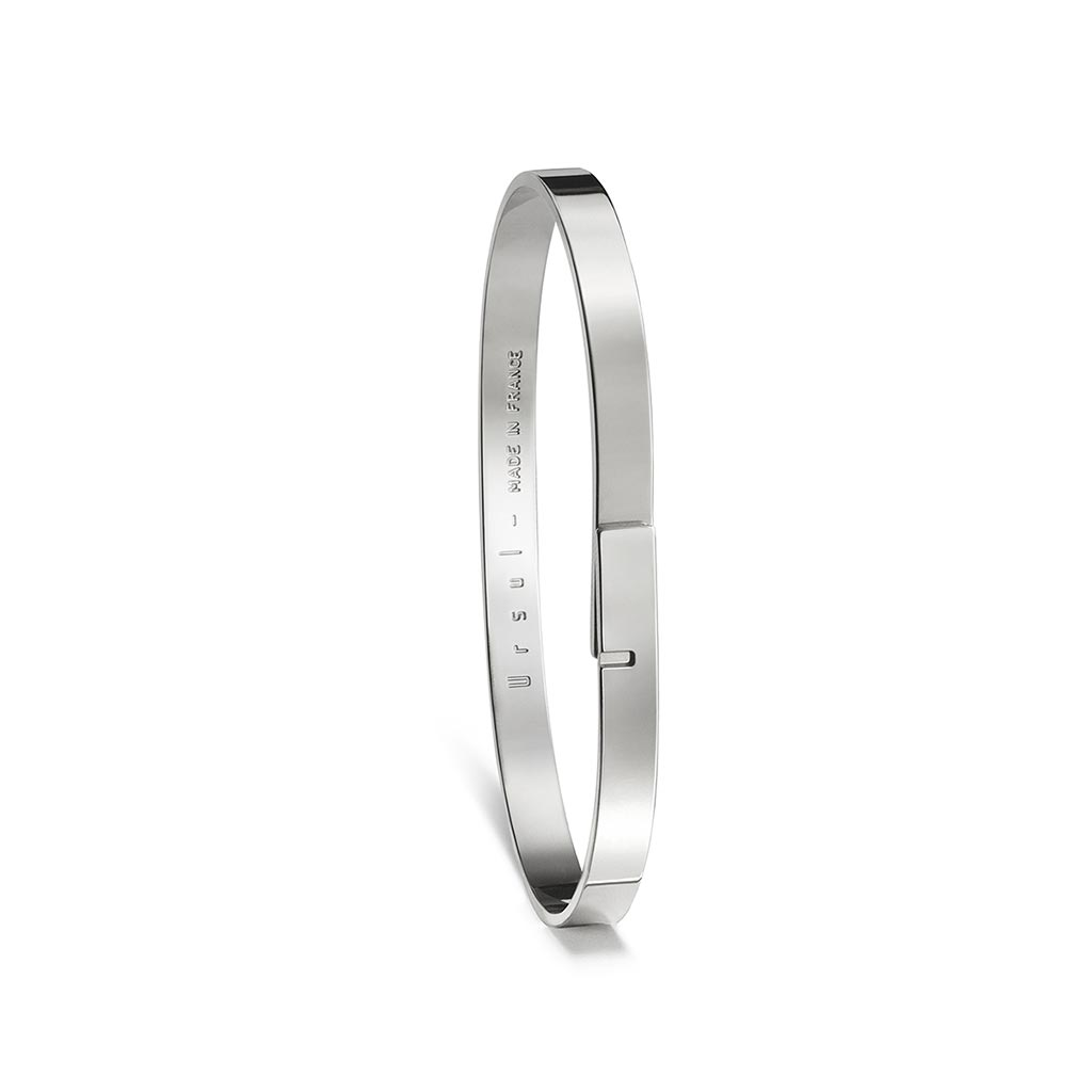 Saturne 5 Women's Silver Bangle
