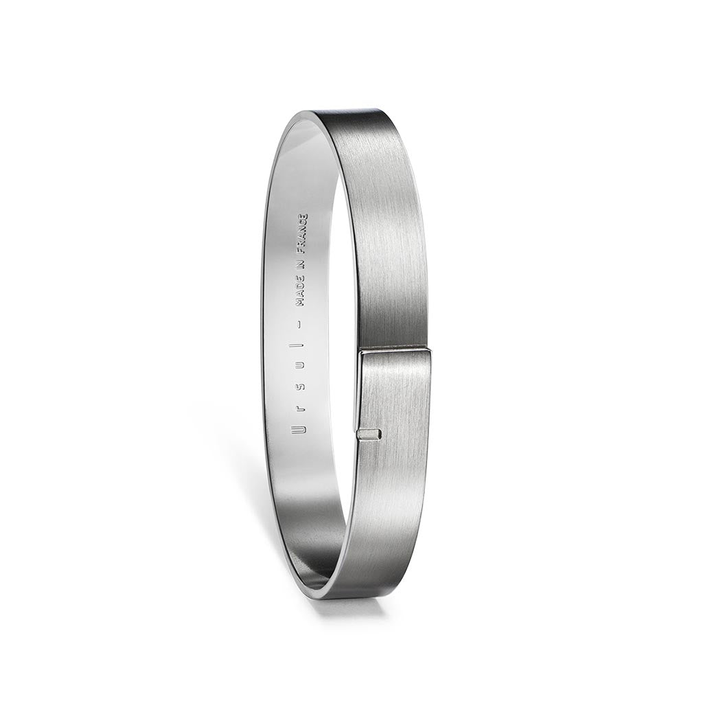 Ursul Saturne 9 Silver Bangle