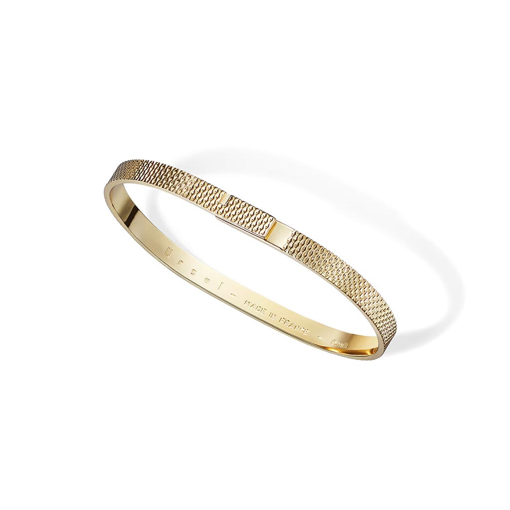 Saturne X Gold Bangle