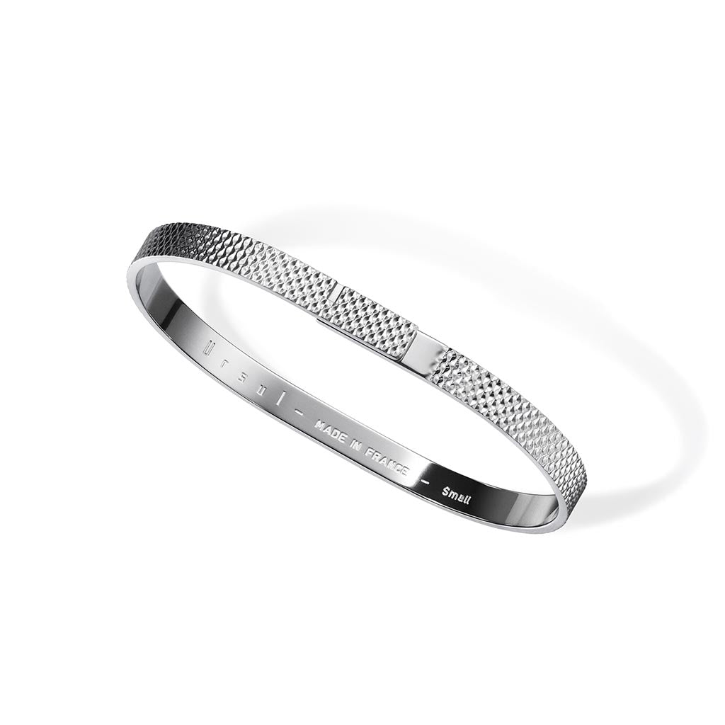 Ursul Saturne X Silver Bangle