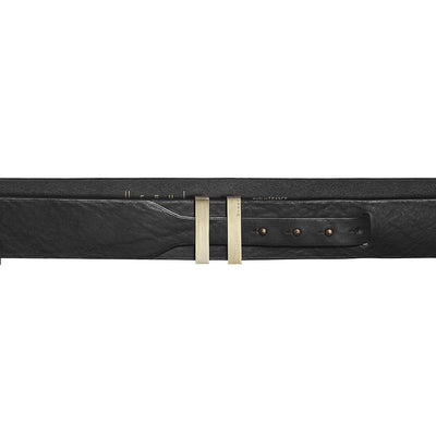 Ursul Spartiate 40 Black Leather Belt