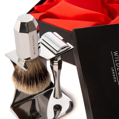 Wilde & Harte Eltham Traditional Design Shaving Gift Set