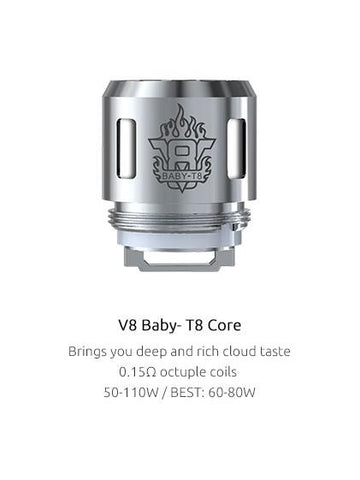 Smok TFV8 Baby Big Family coils (Pack of 5)