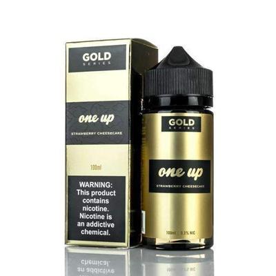One Up Vapor Gold Series - Strawberry Cheesecake - 100ml
