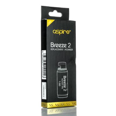 Aspire Breeze 2 U-Tech Replacement Coils For Nicotine Salt - Pack of 5