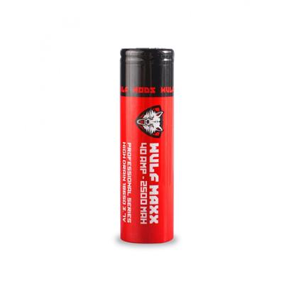 Wulf Mods Wulf Maxx 18650 40 amp 2500 mAh Battery