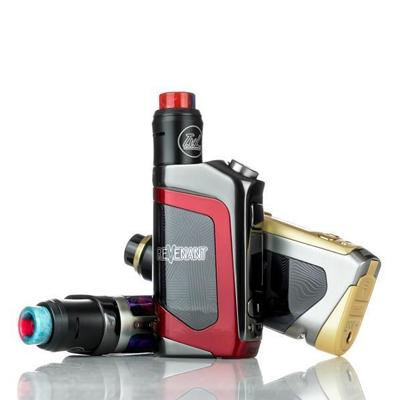 Revenant x TVL Delta 100W TC Squonk Starter Kit With 6.5ML Reload RDA Tank