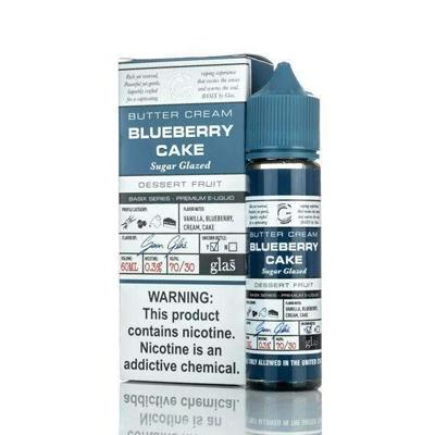 Basix Series By Glas E-Liquid - Blueberry Cake 60ML