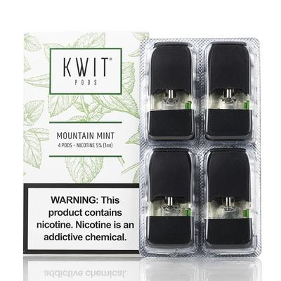 Kwit Stick By Aspire 1ML Refillable Pod Mountain Mint Flavor