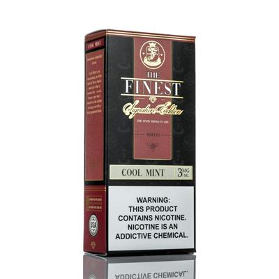 The Finest E-Liquid Signature Edition - Cool Mint 120ML (2x60ML)
