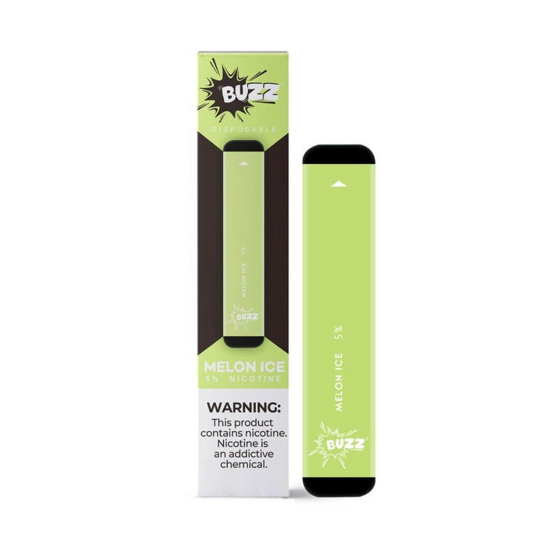 BUZZ Pre-Filled Disposable Pod Melon Ice Flavor available at the best price only at Smokly.com