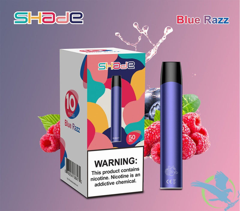 Shade 1.7ML Disposable Pod Device Blue Razz