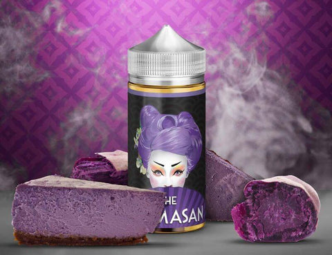 Purple Cheesecake Mamasan