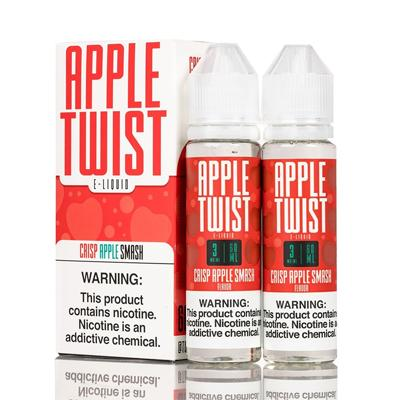 Apple Twist E-Liquid - Crisp Apple Smash 120ML (2 x 60ML)