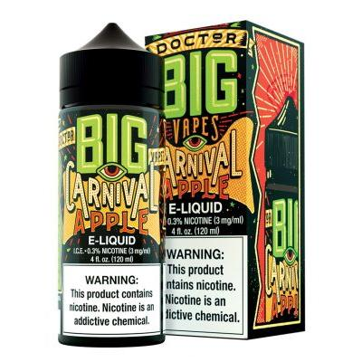 Doctor Big Vapes By Big Bottle Co. E-Liquid Carnival Apple 120ML