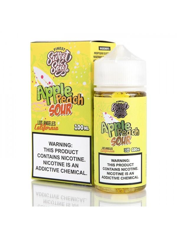 Apple Peach Sour Rings On Ice By Candy Shop E-Liquid 100ML