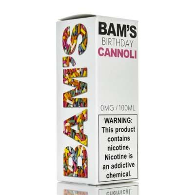 Bam's Cannoli - Birthday Cannoli - 100ml