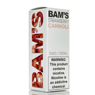 Bam's Cannoli - Strawberry Cannoli - 100ml