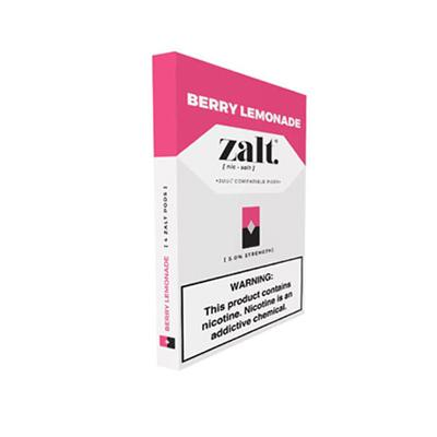 Zalt Prefilled Nicotine Salt Compatible Pods - Berry Lemonade