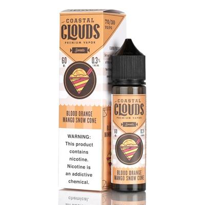 Blood Orange Mango Snow Cone - Coastal Clouds Co. - 60mL