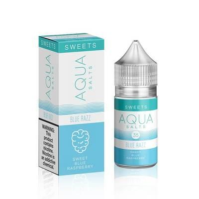Aqua Salts Nicotine Salt E-Liquid Blue Razz 30ML