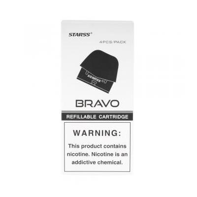 Starss Bravo Replacement pods 2ML  - Pack of 4