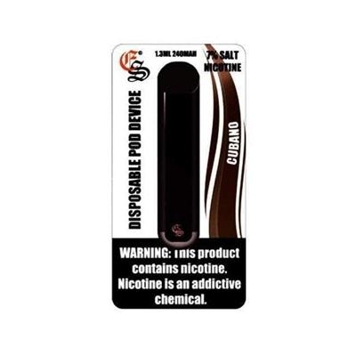 Eonsmoke Disposable 240mAh 1.3ML Salt Nicotine Pod Device - Cubano