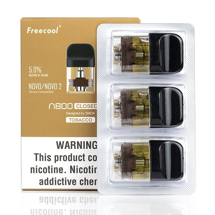 Freecool N800 Pre-filled Pod Cartridge (3ct Pack)