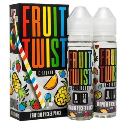 Fruit Twist E-Liquid - Tropical Pucker Punch 120ML (2 x 60ML)