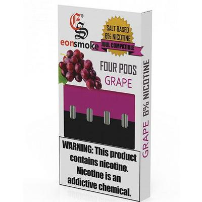 Eonsmoke Prefilled Nicotine Salt Compatible Pods - Grape