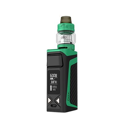 iJoy Elite Mini 3 In 1 60W TC Box Mod With 3ML iJoy Captain Elite Sub-Ohm And RTA Tank And POD Adapter Starter Kit