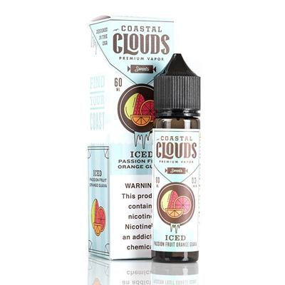 Iced Passion Fruit Orange Guava - Coastal Clouds Co. - 60mL