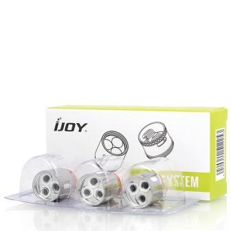 iJoy Captain X3 And X3S Replacement Coils - Pack of 3
