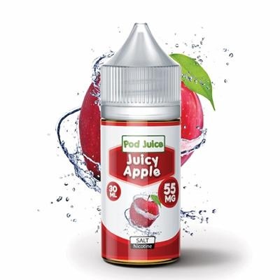 Pod Juice Nicotine Salt E-Liquid - Juicy Apple 30ML