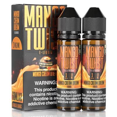 Mango Twist E-Liquid - Mango Cream Dream 120ml (2x60ml)