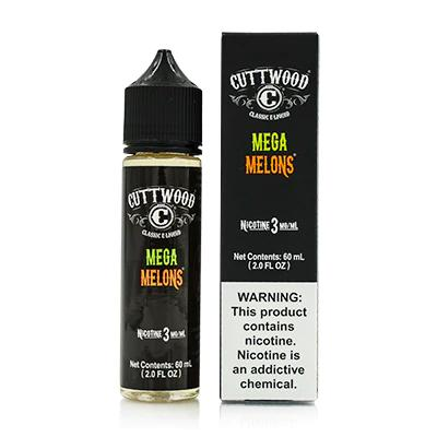 Cuttwood Hand Crafted E-Liquid - Mega Melons 60ML