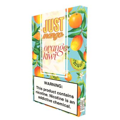 Just Mango 1ML Prefilled E-liquid Compatible Pods - Orange Kiwi