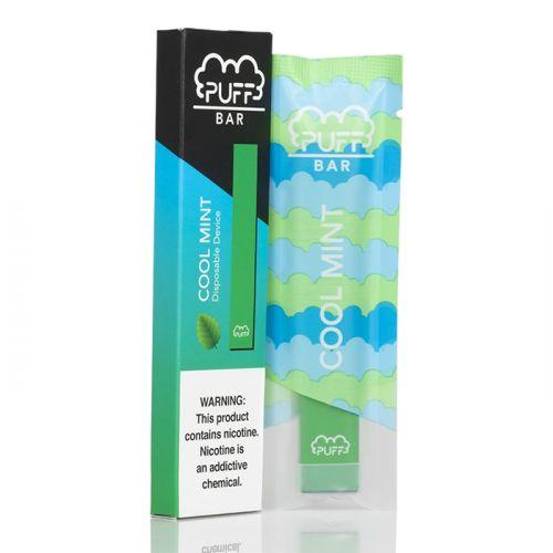 Puff Bar Disposable Pod - Cool Mint Flavor