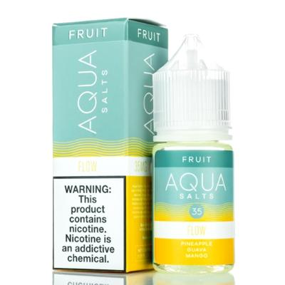 Aqua Salts Nicotine Salt E-Liquid Flow 30ML