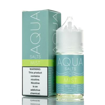 Aqua Salts Nicotine Salt E-Liquid Mist 30ML