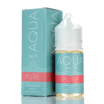 Aqua Salts Nicotine Salt E-Liquid Pure 30ML