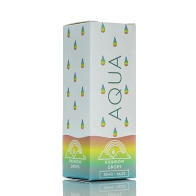 Aqua Salts Nicotine Salt E-Liquid Rainbow Drops 30ML