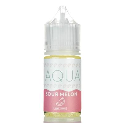 Aqua Salts Nicotine Salt E-Liquid Sour Melon 30ML