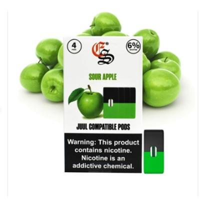 Eonsmoke Prefilled Nicotine Salt Compatible Pods - Sour Apple