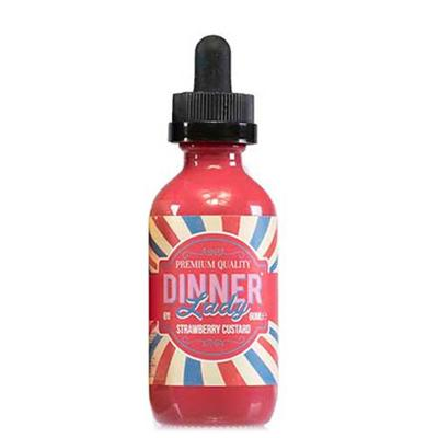Dinner Lady Strawberry Custard E-Liquid 60ML